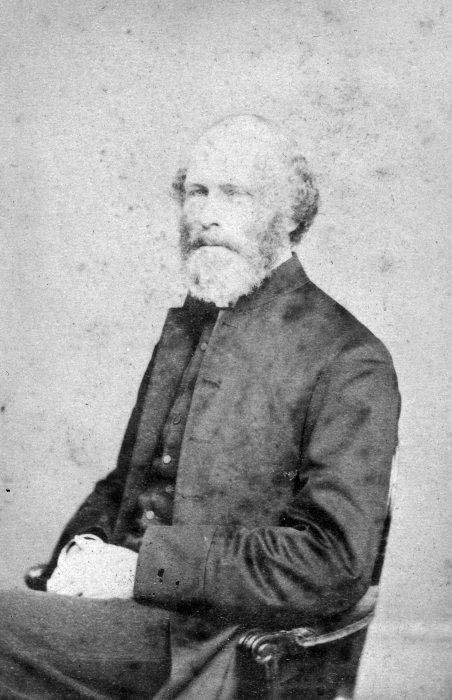 Architect Frederick Thatcher, c1880