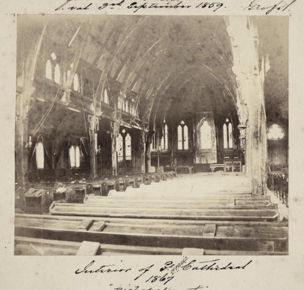 Interior view, 1867