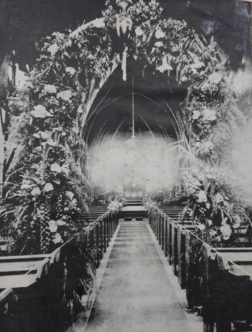 Wedding decorations 1897 old st pauls wellington new zealand wedding decorations 1897 junglespirit Image collections