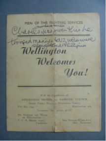 Wellington Welcomes You