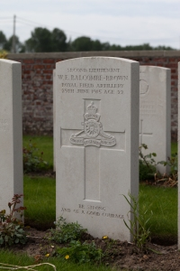 W.E Balcombe-Brown war grave