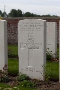 W.E Balcombe-Brown war grave