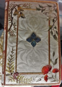 One of the royal prayer books used by the Queen during the 1954 service